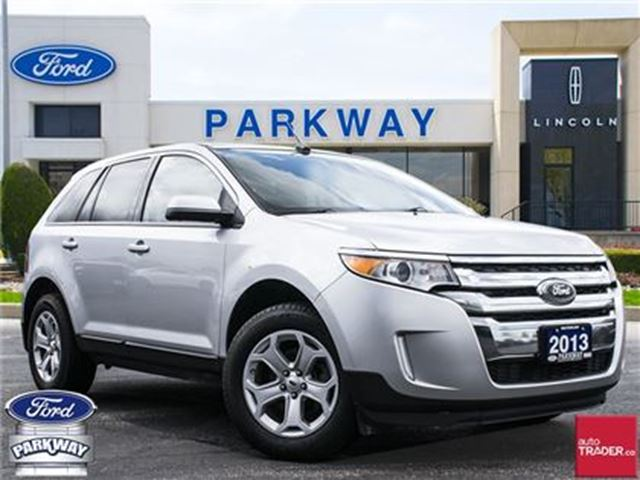 2013 Ford Edge SEL FWD  LEATHER  BLUETOOTH  GPS  SUNROOF in Waterloo, Ontario