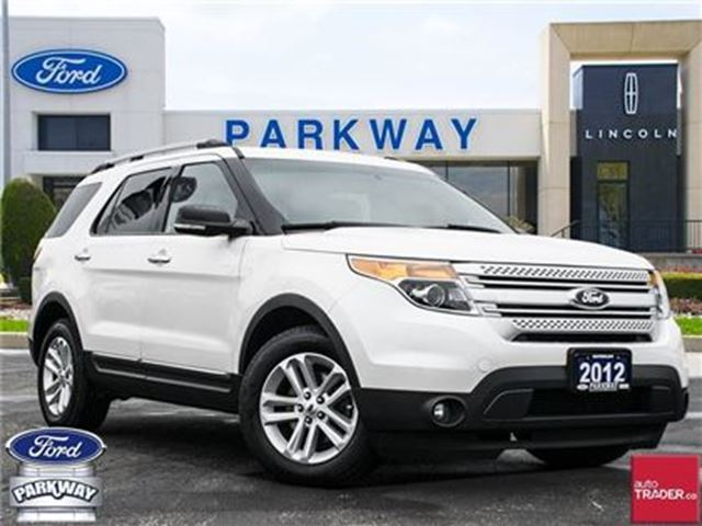 2012 Ford Explorer XLT 4WD  LEATHER  GPS  BLUETOOTH  SUNROOF  7 SEATS in Waterloo, Ontario