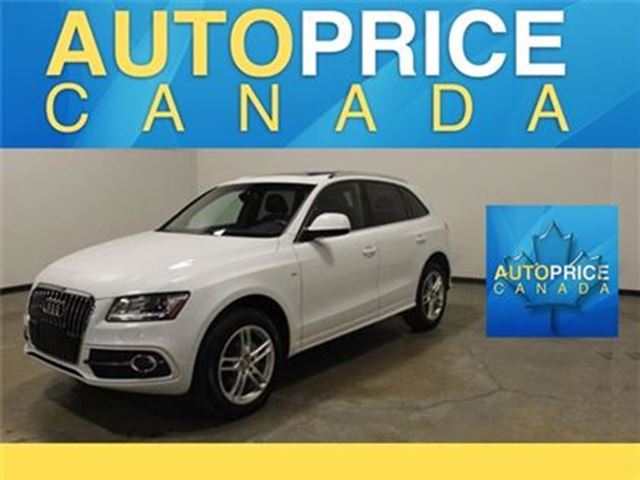 2013 Audi Q5 2.0T NAVIGATION PANOROOF in Mississauga, Ontario