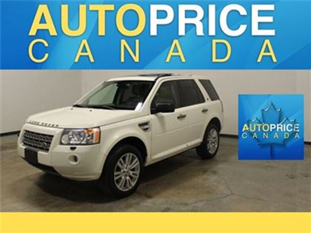 2010 LAND ROVER LR2 HSE PANORAMIC ROOF LEATHER in Mississauga, Ontario