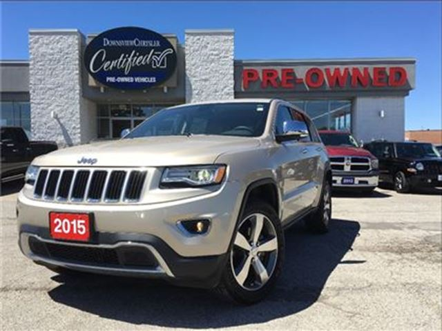 2015 JEEP GRAND CHEROKEE Limited..$239 b/w+hst..$0 down..84m..4.9% in Toronto, Ontario