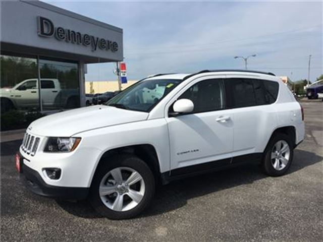 2016 Jeep Compass HIGH ALTITUDE LEATHER in Simcoe, Ontario