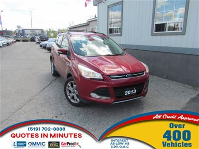 2013 Ford Escape SEL   LEATHER   NAVIGATION   ECO FRIENDLY in London, Ontario