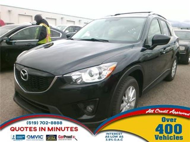 2013 MAZDA CX-5 GS   AWD   SUNROOF   NAVIGATION   BACKUP CAM in London, Ontario