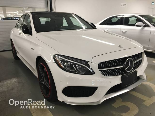 2016 MERCEDES-BENZ C-CLASS 4dr Sdn C 450 AMG 4MATIC in Vancouver, British Columbia