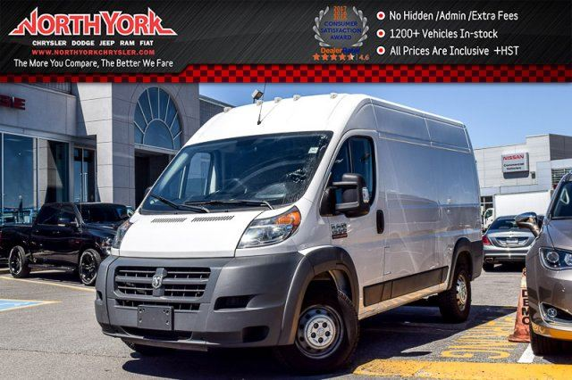 2014 Ram Promaster  CleanCarproof CargoConven.Pkg Keyless_Entry PwrOptions  in Thornhill, Ontario