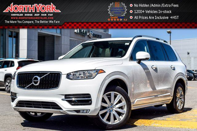 2016 Volvo XC90 T6 Momentum AWD 7-Seater Leather Nav Pano_Sunroof Quad Climate 19Alloys in Thornhill, Ontario
