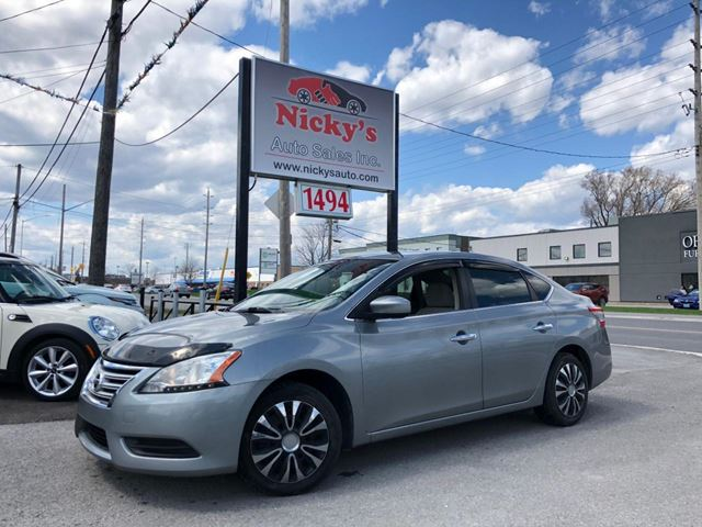 2013 NISSAN Sentra SV, PURE DRIVE, AUTO, CRUISE CTRL, A\C, LOADED! in Ottawa, Ontario