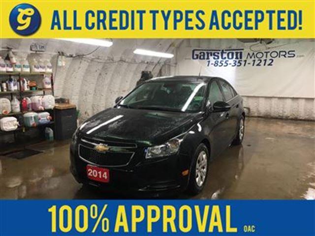 2014 CHEVROLET CRUZE LT*REMOTE START*ON STAR PHONE CONNECT*AM/FM/XM/CD/ in Cambridge, Ontario