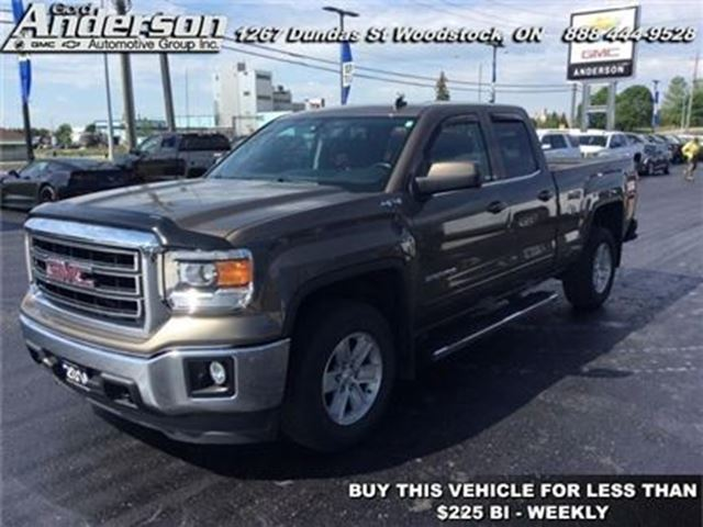 2014 GMC Sierra 1500 SLE  - Bluetooth -  Onstar in Woodstock, Ontario