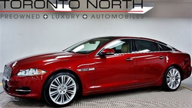 2011 Jaguar XJ Series XJ XJL XJ L Supercharged NO ACCIDENT in Toronto, Ontario