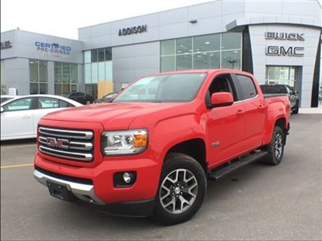 2015 GMC CANYON SLE One owner, accident free in Mississauga, Ontario