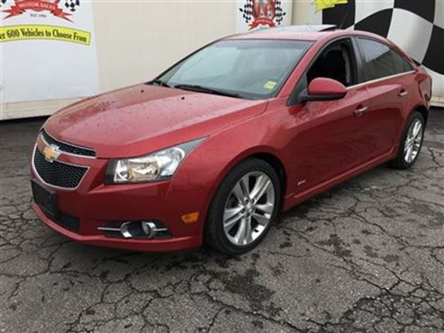 2011 CHEVROLET CRUZE LTZ Turbo, Automatic, Sunroof, Bluetooth, in Burlington, Ontario