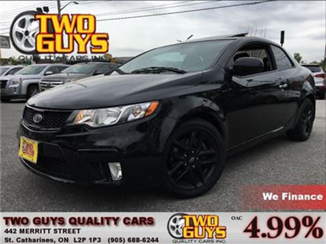 2011 Kia Forte Koup 2.4L SX COMING SOON! in St Catharines, Ontario