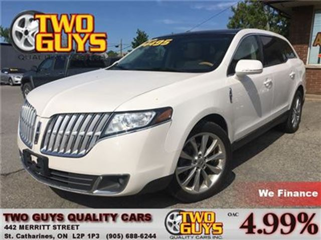 2011 LINCOLN MKT ECOBOOST DVD NAV LEATHER PANOROOF AWD in St Catharines, Ontario