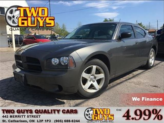 2008 DODGE CHARGER SXT LOCAL TRADE ALLOYS POWER GROUP in St Catharines, Ontario