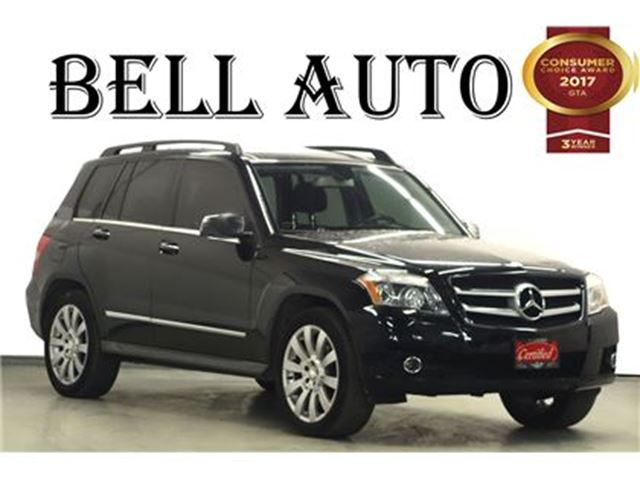2012 Mercedes-Benz GLK-Class 350 4MATIC PANORAMIC ROOF BLUETOOTH in Toronto, Ontario
