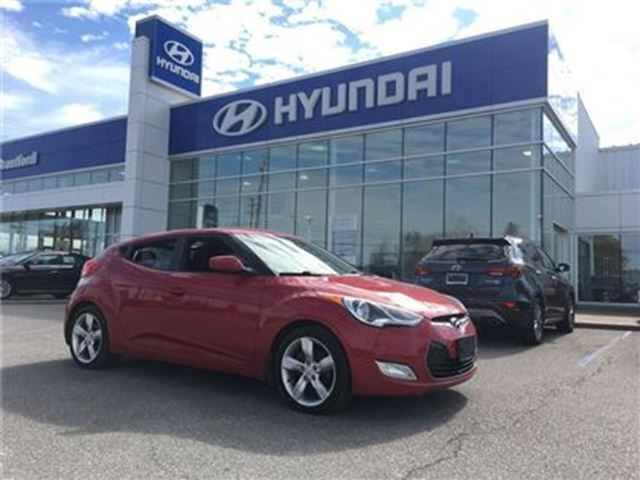 2012 HYUNDAI VELOSTER ONE-Owner   Automatic   Bluetooth   HTD Seats in Brantford, Ontario