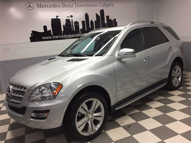 2011 MERCEDES-BENZ M-CLASS ML350 BlueTEC 4MATIC Avantgarde w/ HK Sound in Calgary, Alberta