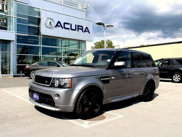 2013 LAND ROVER RANGE ROVER Sport V8 Supercharged (SC) in Surrey, British Columbia