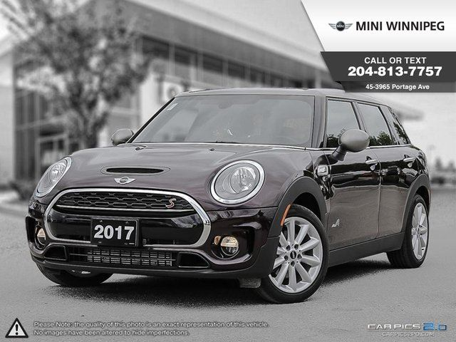 2017 MINI COOPER S Local Car! 1 Owner! in Winnipeg, Manitoba