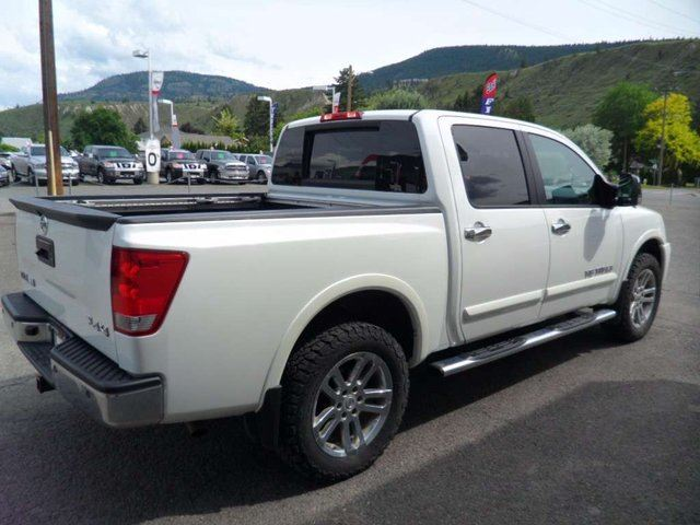2014 nissan titan sl 4x4 crew cab swb kamloops british columbia car for sale 2780062. Black Bedroom Furniture Sets. Home Design Ideas