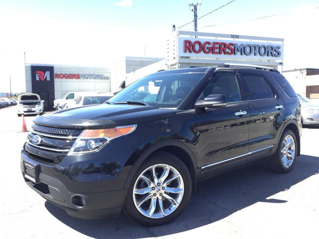 2012 FORD EXPLORER LTD 4WD - 7 PASS - DUAL DVD - NAVI  in Oakville, Ontario