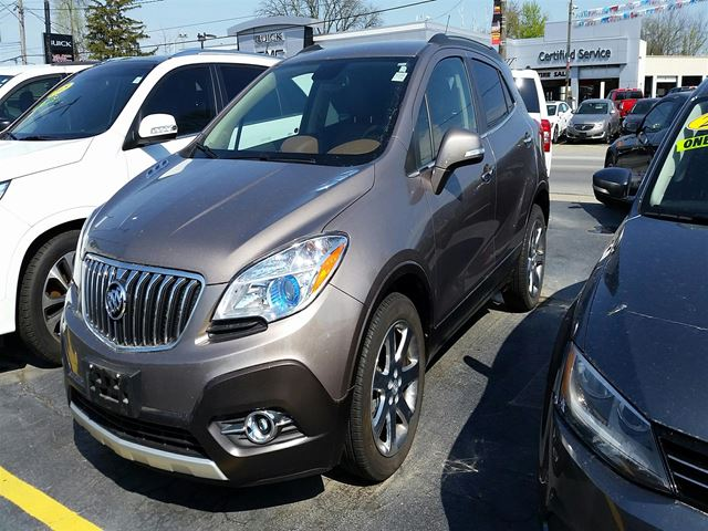 2014 Buick Encore Leather FWD - ** ONE OWNER!! **, Purchased, ser in Virgil, Ontario