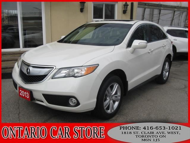 2013 ACURA RDX AWD TECH PKG. NAVIGATION LETHER SUNROOF in Toronto, Ontario