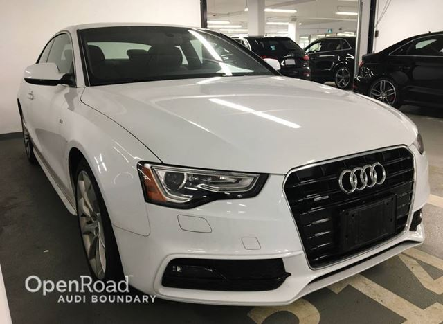 2014 AUDI A5 2dr Cpe Auto Technik in Vancouver, British Columbia