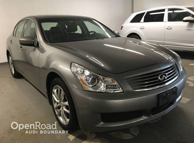 2009 INFINITI G37  4dr Sdn Luxury AWD in Vancouver, British Columbia