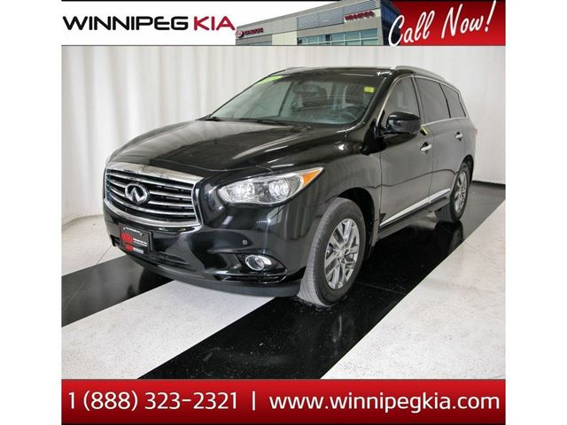 2013 INFINITI JX *Accident Free! Loaded! DVD Headrests!* in Winnipeg, Manitoba