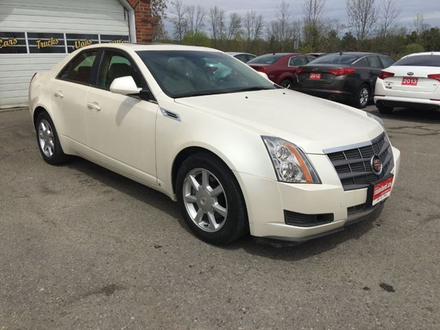 2009 cadillac cts w 1sa bowmanville ontario car for sale 2780196. Black Bedroom Furniture Sets. Home Design Ideas