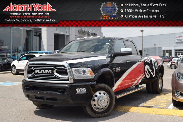 2016 Dodge RAM 3500 Longhorn Limited 4x4 Diesel Dually Protection,Cold Wthr,Decor Pkgs Nav Sunroof in Thornhill, Ontario