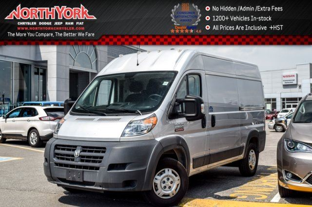 2016 Ram Promaster HighRoof Backup Cam Bluetooth Sat Radio AC in Thornhill, Ontario