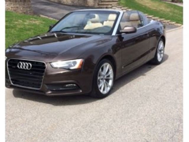 2014 Audi A5 Techik Audi Excess Wear Protection & AudiCare in Mississauga, Ontario