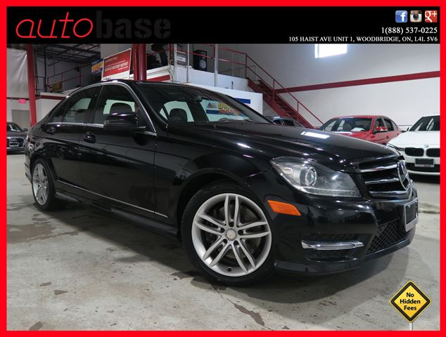 2014 MERCEDES-BENZ C-CLASS C300 4MATIC NAVIGATION | PANORAMIC | XENON in Woodbridge, Ontario