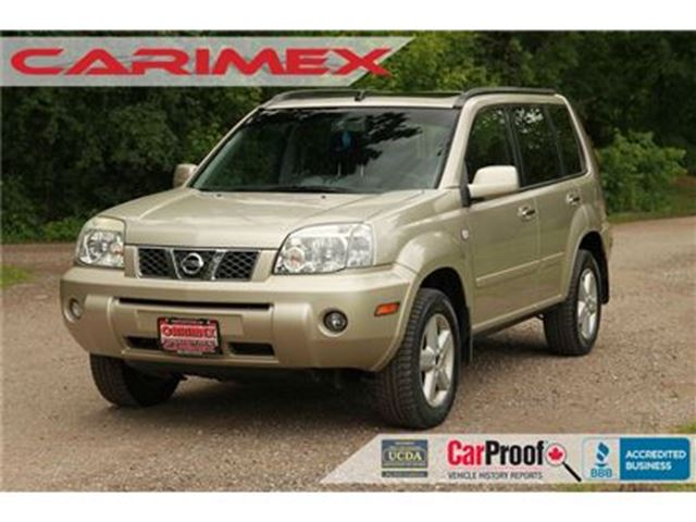 2006 Nissan X-Trail SE 4x4   Heated Seats   Sunroof in Kitchener, Ontario