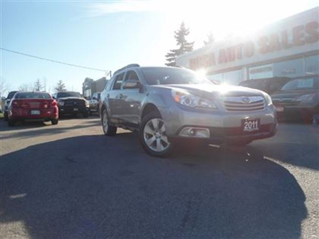 2011 SUBARU OUTBACK 5DR AWD  Wgn H6 Auto 3.6R Prem Pwr Moon MINT LOCAL in Oakville, Ontario