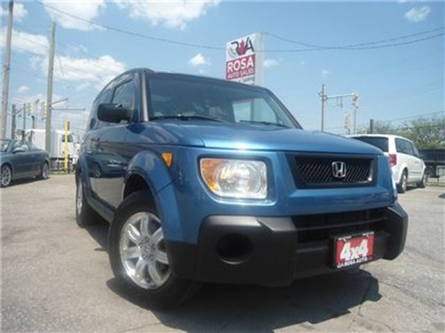2006 Honda Element 4dr 4WD Auto SUNROOF ONE OWNER NO ACCIDENT PW PL P in Oakville, Ontario