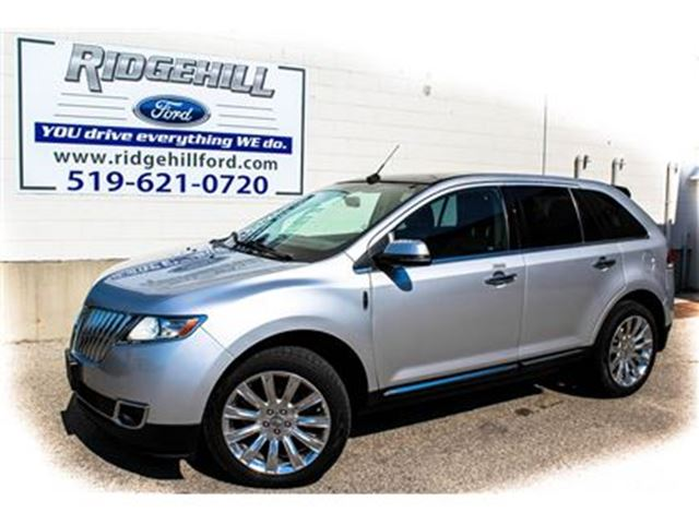 2013 Lincoln MKX NAVIGATION  PANORAMIC ROOF  LEATHER in Cambridge, Ontario