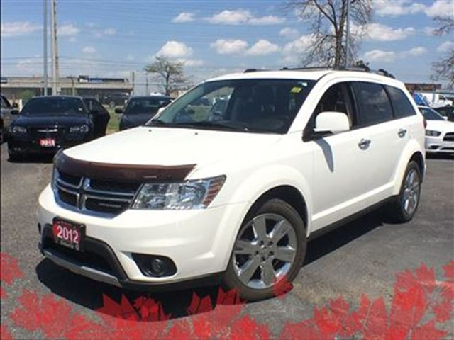 2012 Dodge Journey R/T**AWD**LEATHER**SUNROOF**BLUETOOTH** in Mississauga, Ontario
