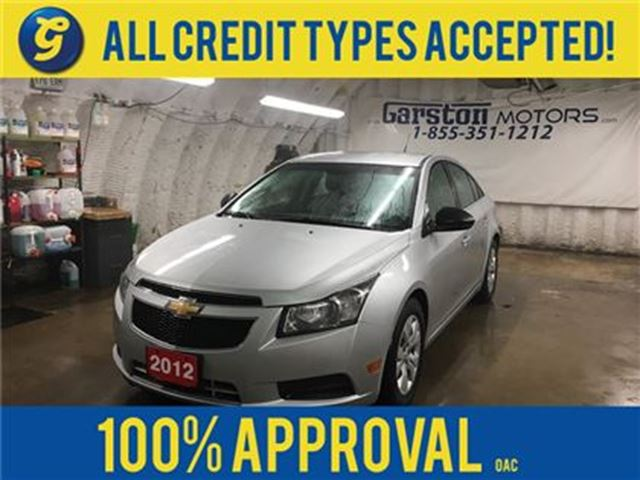 2012 CHEVROLET CRUZE KEYLESS ENTRY*ON STAR PHONE CONNECT*AM/FM/XM/CD/AU in Cambridge, Ontario