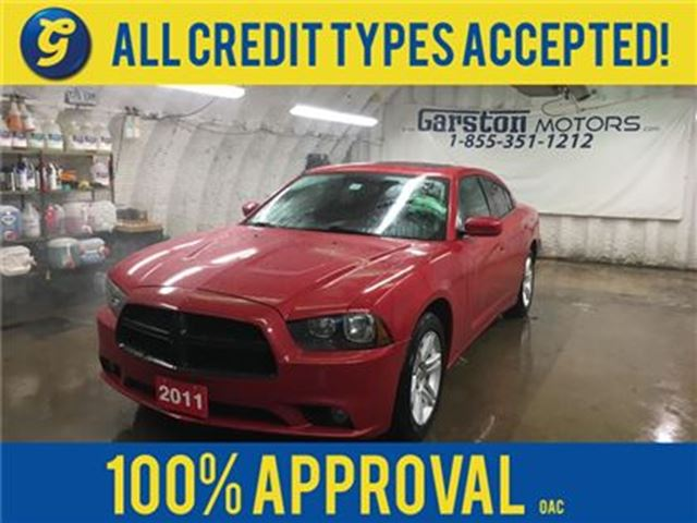 "2011 DODGE CHARGER SXT*POWER SUNROOF*U CONNECT PHONE*8.4"" TOUCH in Cambridge, Ontario"