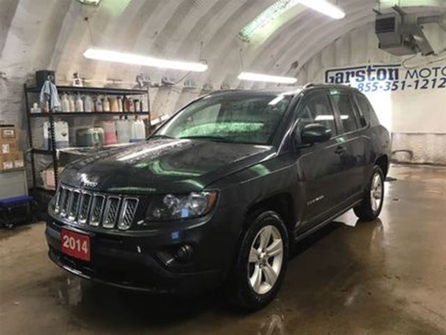 2014 JEEP COMPASS SPORT/NORTH 4WD*HEATED MIRRORS*STEERING WHEEL CONT in Cambridge, Ontario
