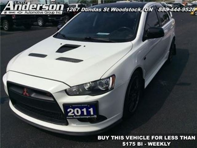2011 MITSUBISHI LANCER Ralliart in Woodstock, Ontario