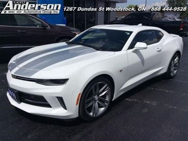 2016 Chevrolet Camaro 2LT - Cooled Seats -  Bluetooth -  Chevy Mylink in Woodstock, Ontario