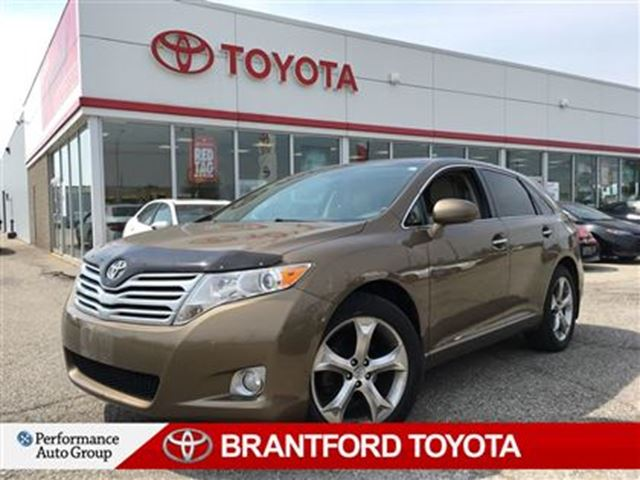 2010 Toyota Venza V6, AWD, Leather, Sunroof, Carproof Clean, in Brantford, Ontario