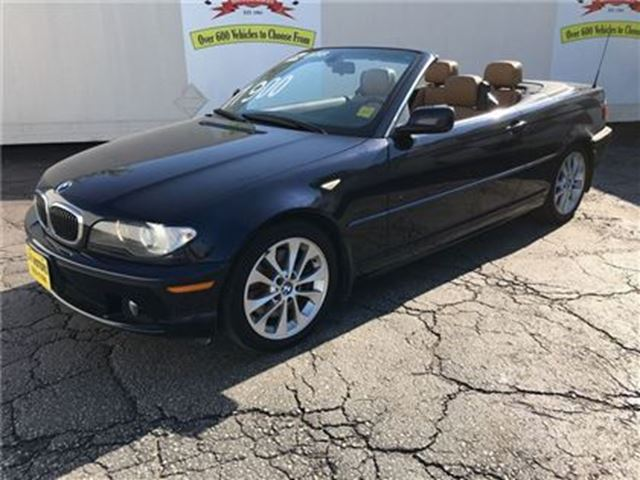 2004 BMW 3 Series 330Ci, Automatic, Leather, Convertible, in Burlington, Ontario