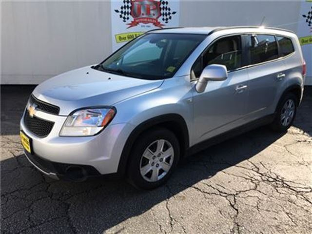 2012 CHEVROLET ORLANDO 1LT, Automatic, Third Row Seating in Burlington, Ontario
